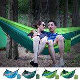 2-osobowy podwójny hamak Wiszące łóżko Huśtawka ogrodowa Outdoor Camping Travel
