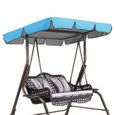 Balançoire chaise couverture supérieure remplacement auvent porche parc patio jardin extérieur sans balançoire
