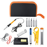 220V 60W Soldering Iron Kit Electronic Welding Iron Tool Adjustable Temperature