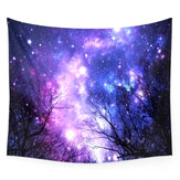 IPRee ™ 150x130 CM Outdoor Travel Ręcznik plażowy Mata Vintage Galaxy Indian Mandala Tapestry