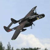 Dynam Northrop P-61 Black Widow 1500 mm spanwijdte Twin Engine EPO Warbird Fighter RC vliegtuig PNP