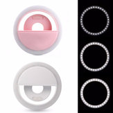 Selfie 36 USB LED ضوء Ring Flash Fill Clip الة تصوير for iPhone for Samsung Mobile Phone