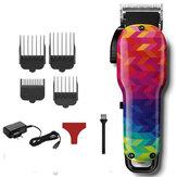 SHINON Retro Масло Head Электрическая машинка для стрижки волос Colorful Волосы Clipper Аккумуляторная Волосы Триммер Волосы Станок для резки Волосы Cut Т
