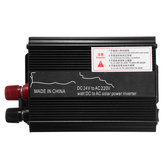 1000W Peak 12V/24V DC to 110V/220V AC Solar Power Inverter LED Modified Sine Wave Converter Black