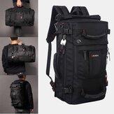 Hombre Multi-carry de gran capacidad Travel al aire libre Multi-function 15.6 Inch Laptop Bolsa Travel Bolsa Mochila