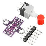 5Pcs CJMCU-010 With Lock Button Self-locking Switch Double Row Switch