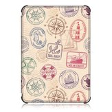 TPU Printing Tablet Case Cover for Kindle Paperwhite4 - Stamp