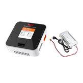 ISDT Q6 Nano BattGo 200W 8A Lipo Bateria Carregador Com Hobbyporter 24V 16.7A 400W Adaptador de fonte de alimentação EU Plug