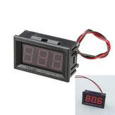 3шт 0.56 дюйма красный ac70-500v мини цифровой вольтметр напряжение приборная панель переменного напряжения LED дисплей измерительный прибор