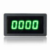 4 رقمي أخضر LED مقياس سرعة الدوران RPM عداد السرعة مع مفتاح القرب قاعة NPN المستشعر