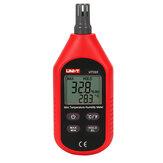 UNI-T UT333 مصغرة lcd ميزان الحرارة الرقمي رطوبة الهواء درجة الحرارة والرطوبة متر الرطوبة متر