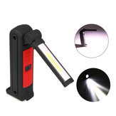 XANES 8003 COB+LED 4Modes 360° Rotation USB Rechargeable Magnetic Worklight Flashlight