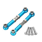 REMO P2512 Blue Aluminum Steel Ring Rod Ends For Truggy Buggy Short Course 1631 1651 1621