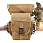 Outdoor Tactical Men Vita Gamba Borsa Impermeabile Hip Drop Cintura Fanny Pack Pouch campeggio Escursioni