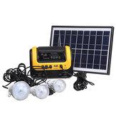 Solar Generator DC Solar Powered System z zasilaniem z radiem MP3 Solar Latarka