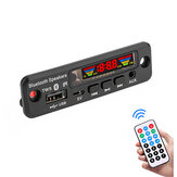 3Pcs 5V Bluetooth 5.0 MP3 Decoder LED Spectrum Display APE Lossless Decoding TWS Suporte FM USB AUX EQ Acessórios para carro