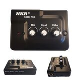 NKR K-3000 Pro Professional Sound Card Live Broadcast Recording 3.5mm AUX Jack External Plug and Play for Mic Phone Musicial