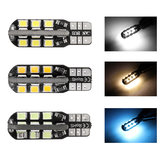 1 Pcs T10 W5W 501 LED Car Wedge Side Luzes Marcadoras License Plate Lâmpadas Canbus Erro Livre