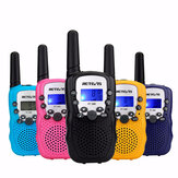 2pcs Retevis RT388 22 Channels GMRS 462-467MHz Mini Handheld Two Way Kids Radio Walkie Talkie