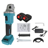 100mm Brushless Cordless Angle Grinder 3 Gears Polishing Grinding Cutting Tool With Battery For For Makita 18V Battery