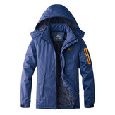 Mens Winter Fleece Warm Waterproof Windproof Outdoor Jacket