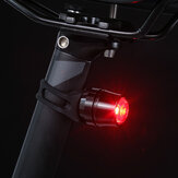 Aluminum Alloy Bike Taillight 2 Modes USB Rechareable IP44 Waterproof Warning LED Night Bike Light Outdoor Cycling
