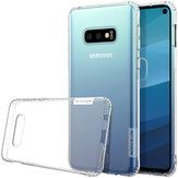 NILLKINTransparenteÀProvadeChoque Anti-slip Soft TPU Tampa Traseira Protetora Caso para Samsung GalaxyS10e
