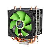 90-мм 3-контактный радиатор охлаждения процессора Тихие вентиляторы для Intel LGA775 / 1156/1155 для двухстороннего вентилятора AMD / AM2 / AM3