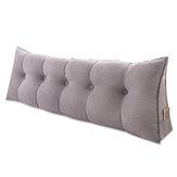 Диванная подушка для спины, кровать, диван, подушка для сиденья, опора для талии, спинка, треугольная подушка на клин, украшения для домашне