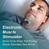 20 pcs Tiras Condutivas Círculo Ronco para Anti Ronco Dispositivo Estimulador Muscular Instrumento de Sono