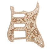SSH Maple Guitar Pickguard Scratch Platte für ST Gitarrenteile