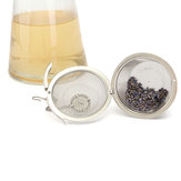 4.5/8.5/11cm Stainless Steel Reusable Mesh Herbal Ball Tea Spice Strainer Teakettle Filter