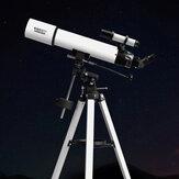 Xiaomi BEEBEST XA90 Astronomische brekingszoomtelescoop voor buiten Telescoop aluminium zoeker Monoculair voor ruimte