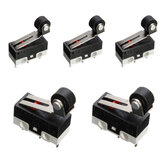 5pcs  Ultra Mini Roller Lever Actuator Micro Switch SPDT Sub Miniature Micro Switch