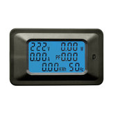 P06S-20A AC 110-250V Electric Energy Meter Household Multi-function Meter Digital Display Voltage and Current Meter Power Monitor