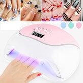 Asciugacapelli LED Chiodo lampada UV lampada per polimerizzare tutti Gel Smalto per unghie con strumento per manicure e pedicure con rilevamento del movimento