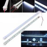 50cm 8520 smd cool white LED leito de alumínio de tira rígida / caixa clara lâmpada de tubo de dc12v