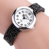 DUOYA DY005 Retro Style Ladies Bracelet Gift Quartz Watch