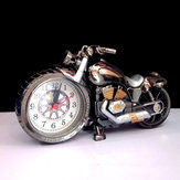 4 Colors Motorcycle Alarm Clock Watch Motor Bike Home Vintage Decorative Plastic Cool Gift