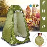 1 Person Automatic Shower Tent Outdoor Folding Camping Tent Changing Room Toilet Rain Shelter with Window Travel Beach