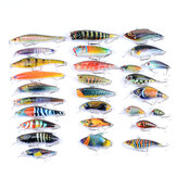 ZANLURE 28 Pcs ABS Fishing Lure Spinning River Sea Lakes Baits Fishing Tackle