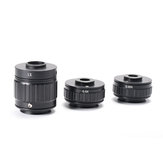HAYEAR 1X 0.35X 0.5X C-mount Lens Adapter Focus Adjustable Camera Installation C-mount Adapter For New Type Trinocular Stereo Microscope