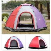 Outdoor 5-6 People Pop-Up campeggio Tenda da campeggio impermeabile anti UV a prova di ombrellone