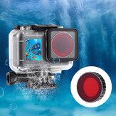 Filtro de buceo de color impermeable Lente para DJI Osmo Action Cámara Accesorios