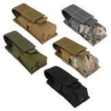 Nylon Single Mag Pouch Insert Torcia Combo Clip Carrier Per Duty Cintura Caccia Gun Accessories
