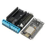 (Wifi Araba Dedicated) NodeMcu Lua ESP8266 ESP-12E + WiFi Motor Sürücü Genişleme Kartı
