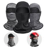 ROCKBROS Cycling Face Maschera Sciarpe elastiche traspiranti elastiche anti-sudore in tessuto di ghiaccio Sciarpe per bicicletta