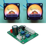 2 Pcs VU Meter Warm Backlight Recording Audio Level Amp With Driver Module