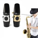 Alto bocal sax saxofone com tampa fivela de cana remendos almofadas almofadas