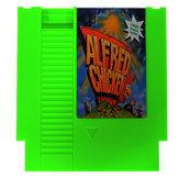 Pollo Alfred 72 pines 8 bits cartucho de tarjeta de juego para nintendo nes